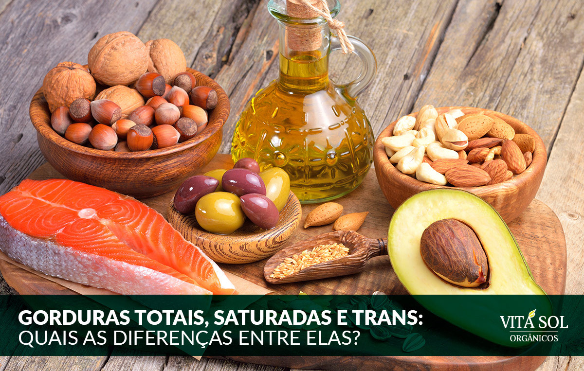 Gorduras totais, saturadas e trans: quais as diferenças entre elas?